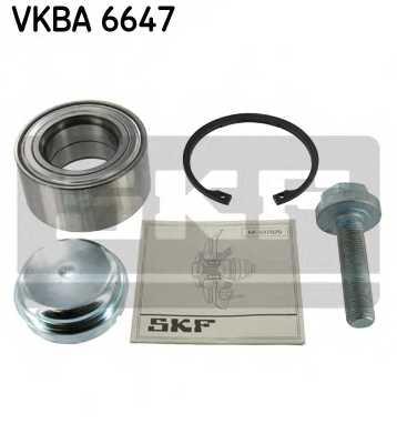 Комплект подшипника ступицы колеса SKF VKBA 6647 - изображение