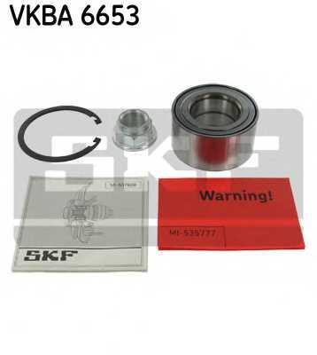 Комплект подшипника ступицы колеса SKF VKBA 6653 - изображение