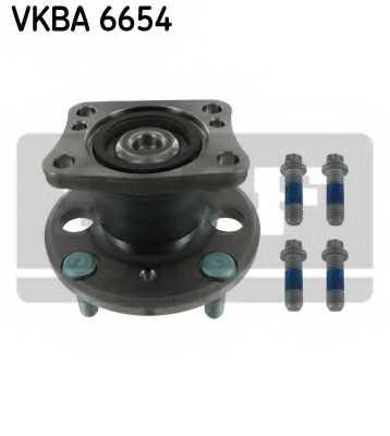 Комплект подшипника ступицы колеса SKF VKBA 6654 - изображение