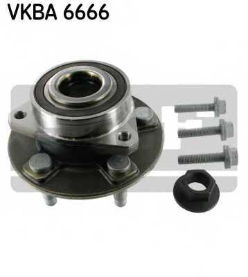 Комплект подшипника ступицы колеса SKF VKBA6666 - изображение