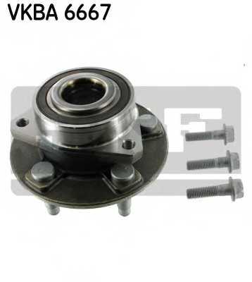 Комплект подшипника ступицы колеса SKF VKBA 6667 - изображение