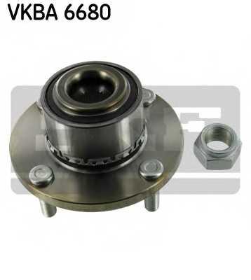 Комплект подшипника ступицы колеса SKF VKBA6680 - изображение