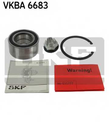 Комплект подшипника ступицы колеса SKF VKBA6683 - изображение