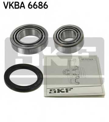 Комплект подшипника ступицы колеса SKF VKBA 6686 - изображение
