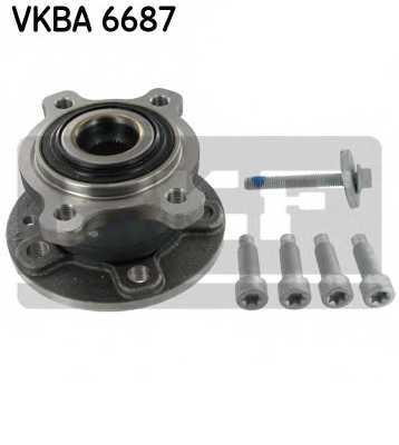 Комплект подшипника ступицы колеса SKF VKBA 6687 - изображение
