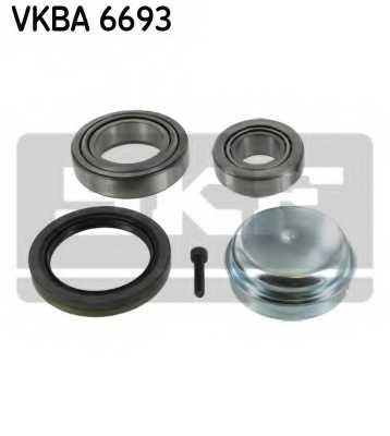 Комплект подшипника ступицы колеса SKF VKBA 6693 - изображение