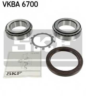 Комплект подшипника ступицы колеса SKF VKBA 6700 - изображение