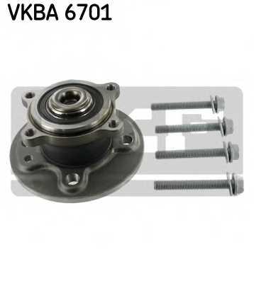 Комплект подшипника ступицы колеса SKF VKBA 6701 - изображение