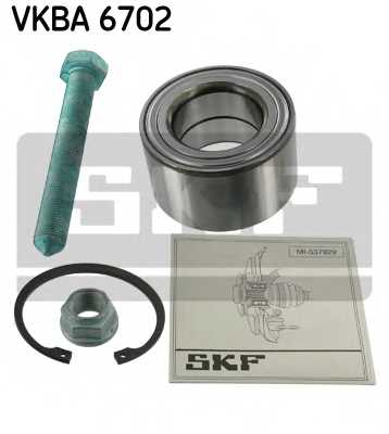 Комплект подшипника ступицы колеса SKF VKBA 6702 - изображение