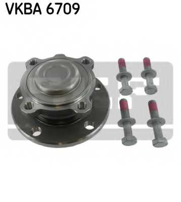 Комплект подшипника ступицы колеса SKF VKBA 6709 - изображение