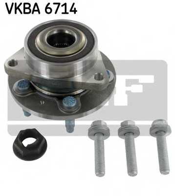 Комплект подшипника ступицы колеса SKF VKBA 6714 - изображение