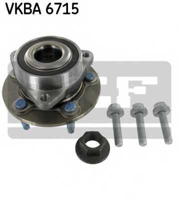 Комплект подшипника ступицы колеса SKF VKBA 6715 - изображение