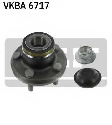 Комплект подшипника ступицы колеса SKF VKBA 6717 - изображение