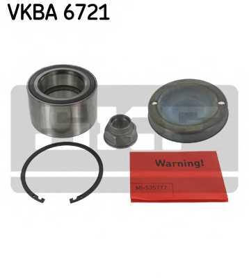 Комплект подшипника ступицы колеса SKF VKBA6721 - изображение