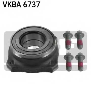 Комплект подшипника ступицы колеса SKF VKBA 6737 - изображение
