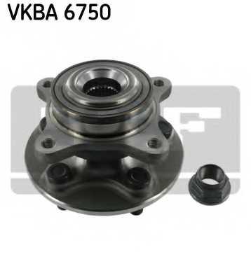 Комплект подшипника ступицы колеса SKF VKBA6750 - изображение