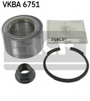 Комплект подшипника ступицы колеса SKF VKBA 6751 - изображение