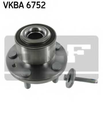 Комплект подшипника ступицы колеса SKF VKBA 6752 - изображение