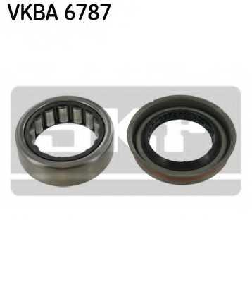 Комплект подшипника ступицы колеса SKF VKBA 6787 - изображение