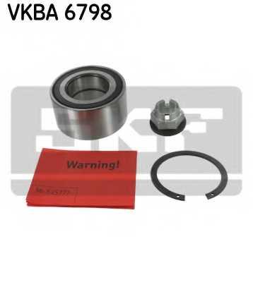 Комплект подшипника ступицы колеса SKF VKBA 6798 - изображение