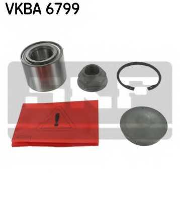 Комплект подшипника ступицы колеса SKF VKBA 6799 - изображение