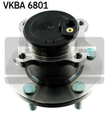 Комплект подшипника ступицы колеса SKF VKBA 6801 - изображение