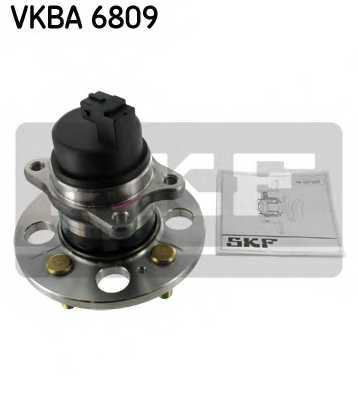 Комплект подшипника ступицы колеса SKF VKBA 6809 - изображение