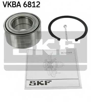 Комплект подшипника ступицы колеса SKF VKBA 6812 - изображение
