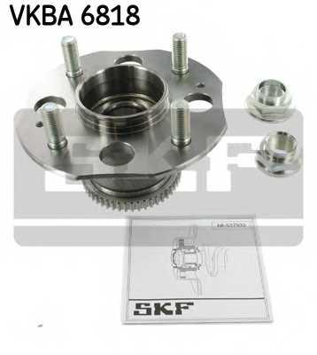 Комплект подшипника ступицы колеса SKF VKBA 6818 - изображение
