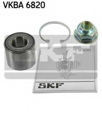 Комплект подшипника ступицы колеса SKF VKBA 6820 - изображение