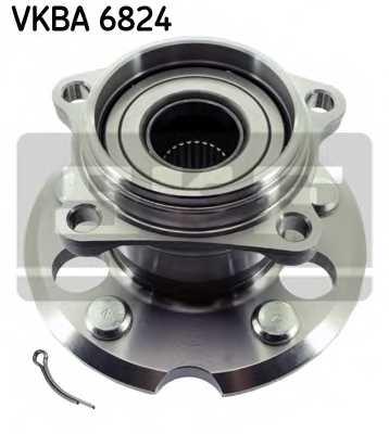 Комплект подшипника ступицы колеса SKF VKBA 6824 - изображение