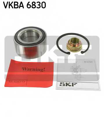 Комплект подшипника ступицы колеса SKF VKBA 6830 - изображение
