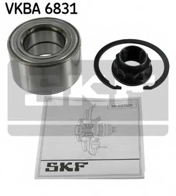 Комплект подшипника ступицы колеса SKF VKBA 6831 - изображение