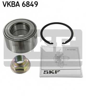 Комплект подшипника ступицы колеса SKF VKBA6849 - изображение