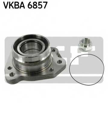 Комплект подшипника ступицы колеса SKF VKBA 6857 - изображение
