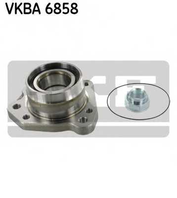 Комплект подшипника ступицы колеса SKF VKBA 6858 - изображение