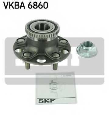 Комплект подшипника ступицы колеса SKF VKBA 6860 - изображение