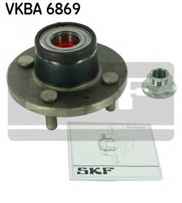 Комплект подшипника ступицы колеса SKF VKBA 6869 - изображение