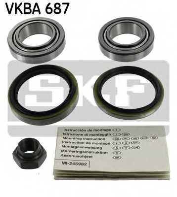 Комплект подшипника ступицы колеса SKF VKBA 687 - изображение