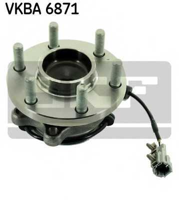 Комплект подшипника ступицы колеса SKF VKBA 6871 - изображение