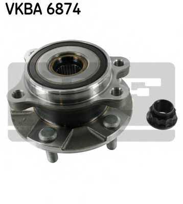 Комплект подшипника ступицы колеса SKF VKBA 6874 - изображение