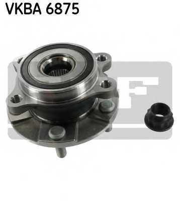 Комплект подшипника ступицы колеса SKF VKBA 6875 - изображение