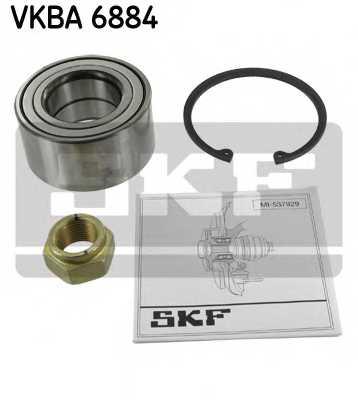 Комплект подшипника ступицы колеса SKF VKBA6884 - изображение