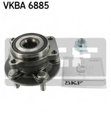 Комплект подшипника ступицы колеса SKF VKBA 6885 - изображение