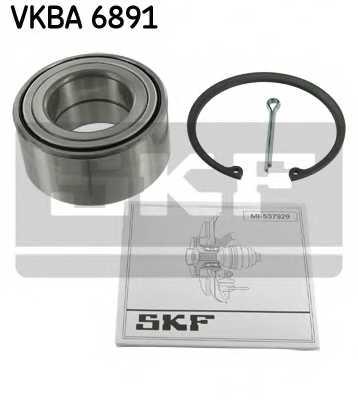 Комплект подшипника ступицы колеса SKF VKBA 6891 - изображение