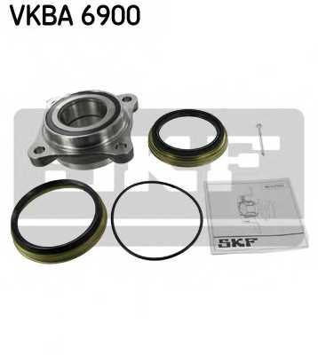Комплект подшипника ступицы колеса SKF VKBA 6900 - изображение