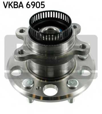 Комплект подшипника ступицы колеса SKF VKBA 6905 - изображение