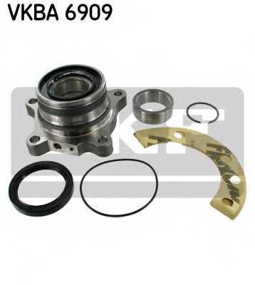 Комплект подшипника ступицы колеса SKF VKBA 6909 - изображение