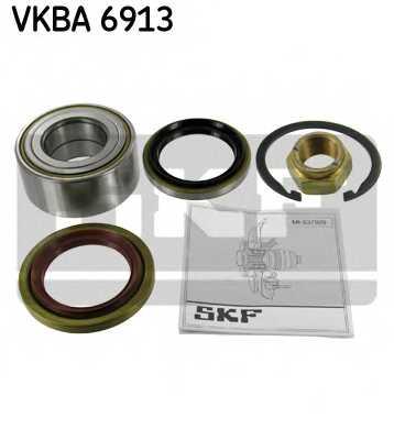 Комплект подшипника ступицы колеса SKF VKBA 6913 - изображение