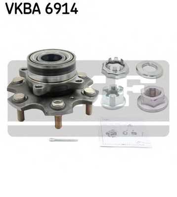 Комплект подшипника ступицы колеса SKF VKBA 6914 - изображение